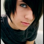 adorable emo boy photo