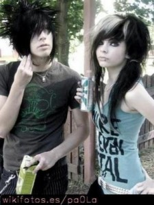 emo pics of love